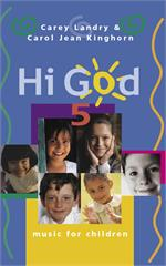 Hi God 5 (Keyboard/Guitar Accompaniment Book Image) Carey Landry