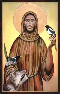 St. Francis of Assisi | Icon Image | by Fr. John Giuliani