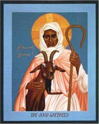 The Good Shepherd | Icon Image | by Robert Lentz