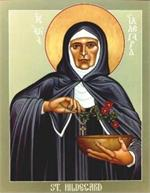 St. Hildegard of Bingen | Icon Image | by Robert Lentz