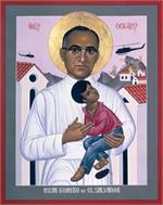 Oscar Romero of El Salvador | Icon Image | by Robert Lentz
