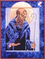 St. Benedict | Icon Image | by Lu Bro