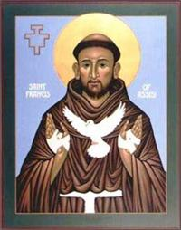 St. Francis of Assisi | Icon Image | by Nicholas Markell