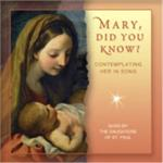 Mary, Did You Know? | CD Image | The Daughters Of St. Paul