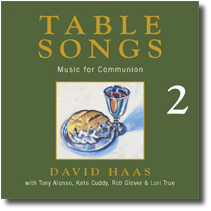 Table Songs Vol. 2 (CD Image) David Haas