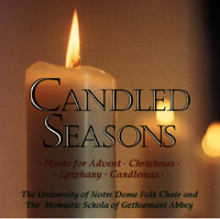 Candled Seasons CD Image |  Notre Dame Folk Choir